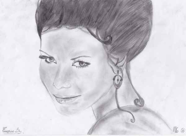 Evangeline Lilly by Gaux